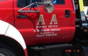 AA Wrecker Auction - Online Only