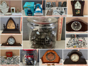 Clocks, Cookie Cutters and Cookie Jars Auction - Online Only