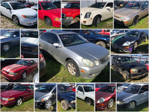 Springtown Police Impounds Auction - Online Only