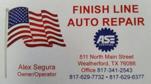 Finish Line Auto Repair Auction - Online Only