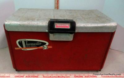 Vintage Thermaster Ice Chest
