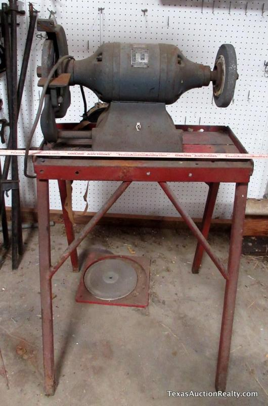 Strange Milwaukee Electric Ball Bearing Bench Grinder Gmtry Best Dining Table And Chair Ideas Images Gmtryco