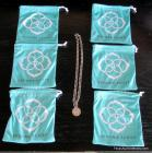 Tiffany & Co. Sterling Necklace with 6 Kendra Scott Bags