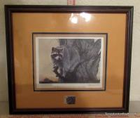 Signed and Framed 1982 Tennessee Conservation Stamp Print