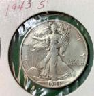 1943S Walking Liberty Half Dollar