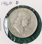 1960D Franklin Half Dollar