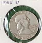 1958D Franklin Half Dollar