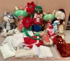 Holiday Toys and Linen