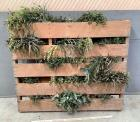 Pallet with Faux Botanicals