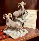"Lenox ""Big Horn Sheep"" North America Wildlife of the Seven Continents Series"