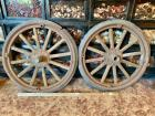 1927 Model T Ford Truck Wheels (2)