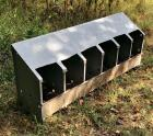 Modified 6-Hole Commercial Nesting Box