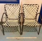 2 Metal Frame Patio Chairs