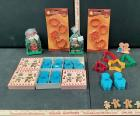Cookie Cutters and Gingerbread Pins
