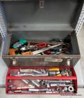 Craftsman Metal Toolbox with Tool Assortment