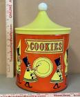 Cookie Tin with Plastic Lid