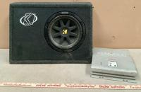 Kicker Speaker and Kenwood PS150 Amplifier