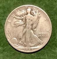 1942D Walking Liberty Half Dollar
