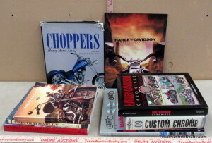 Motorcycle Book Assortment