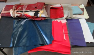 Pleather and Fabric Assortment