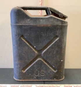 Vintage U.S. Jerry Gas Can