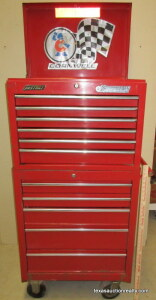 Cornwell 6 Drawer Top Box on Rolling Chest