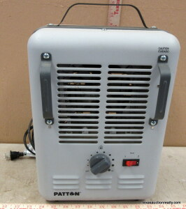 Patton Fan Forced Elect. Heater
