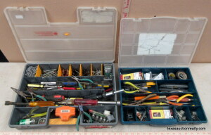 2 Tool/Part Boxes W/Contents
