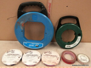 Ideal 200' & Greenlee 50' Fish Tape Reels