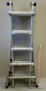 Werner 300lb. Multi Position Ladder