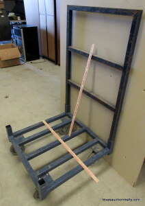"Heavy Duty Shop Cart 29""X29"" Base"