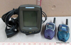 Hummingbird Depth Finder and 2-Way Radios
