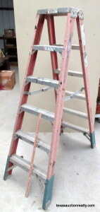 Werner 6' Pro Double Sided Step Ladder