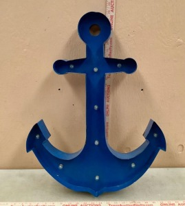 Lighted Metal Anchor
