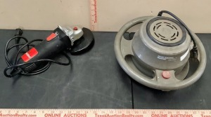 Craftsman Buffer and Drill Master Grinder
