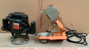 Master Mechanic  MM8510 Plunge Router and Chain Saw Sharpener