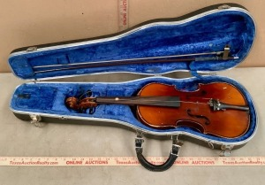 Simson & Frey Concert Violin with Case and Bow