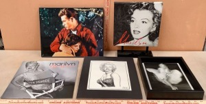 James Dean and Marilyn Monroe Wall Decor