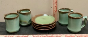Frankoma Cups and Saucers