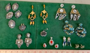 Fashion Earrings and Button Covers