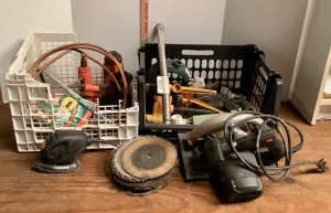 Power Tools and Garage Assortment