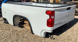2020 Chevrolet Truck Bed with Bumper and Receiver Hitch