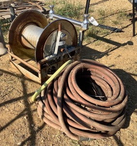 Truck Mount Hose and Reel