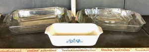 Anchor Hocking and Pyrex Bakeware