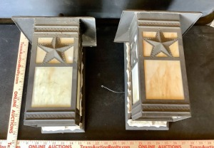 Pair of Wall Mount Light Fixtures