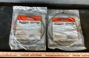 2 Lincoln Electric Wire Welder Cables