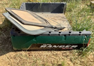 Bed and Doors for Polaris Ranger 6x6