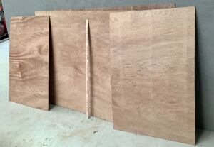 4 Sheets of Plywood