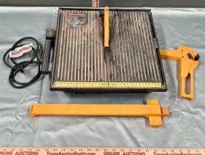 Diamond Wheel Tile Cutter