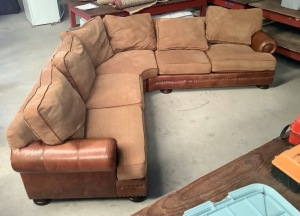 Bernhardt Sectional Couch